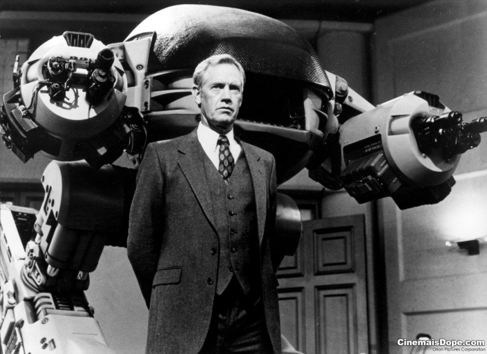 ED-209 with Dick Jones